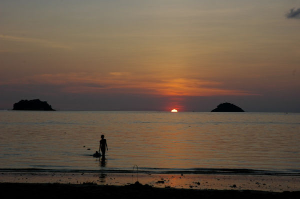 Sunset Ko Chang Thailand