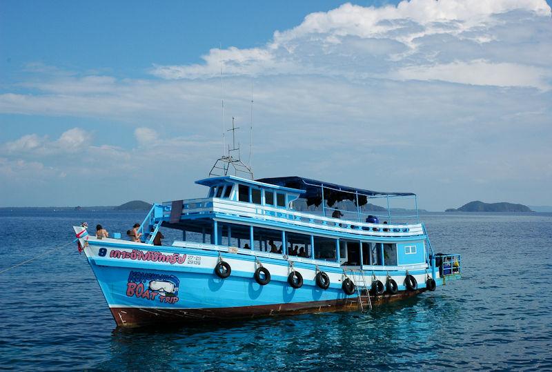 Boat Ko Chang Thailand