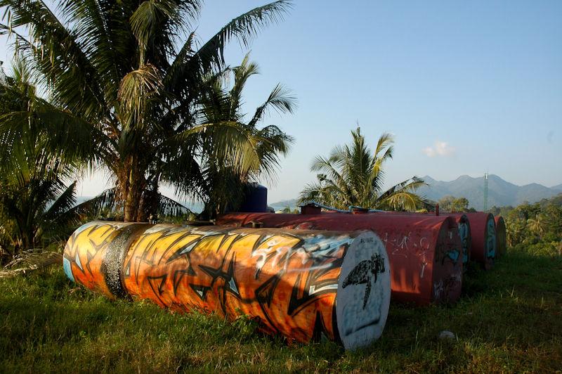 Palms Graffiti Ko Chang Thailand