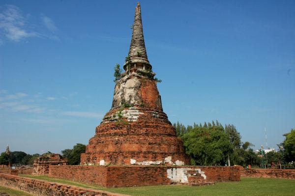 Stupa Ayuthaya Thailand