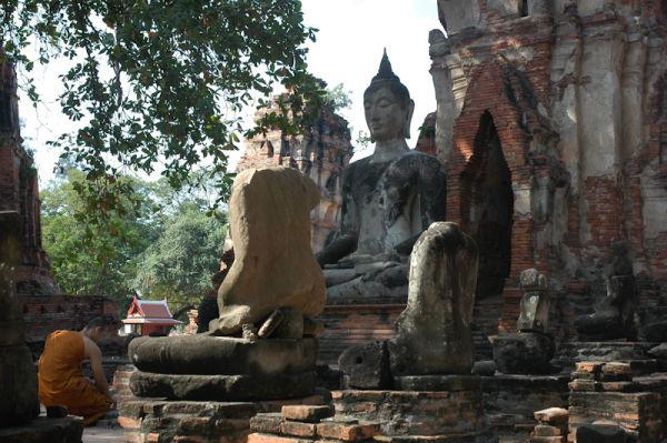 Mahathat Ayuthaya Thailand