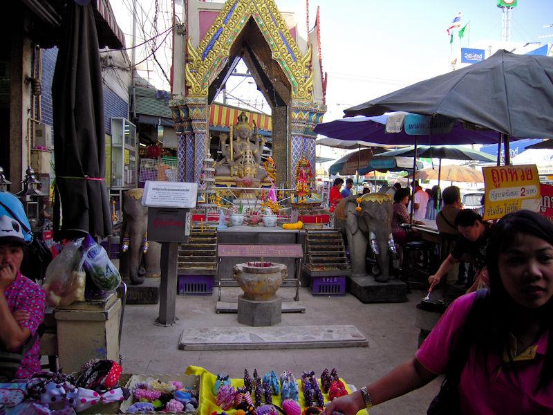 Market Ayuthaya Thailand