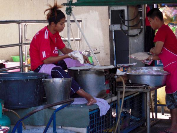 Noodlemaker Ayuthaya Thailand