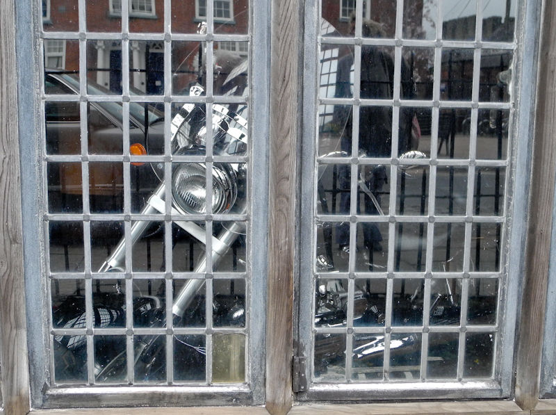 Motorbike Ludlow Shropshire UK