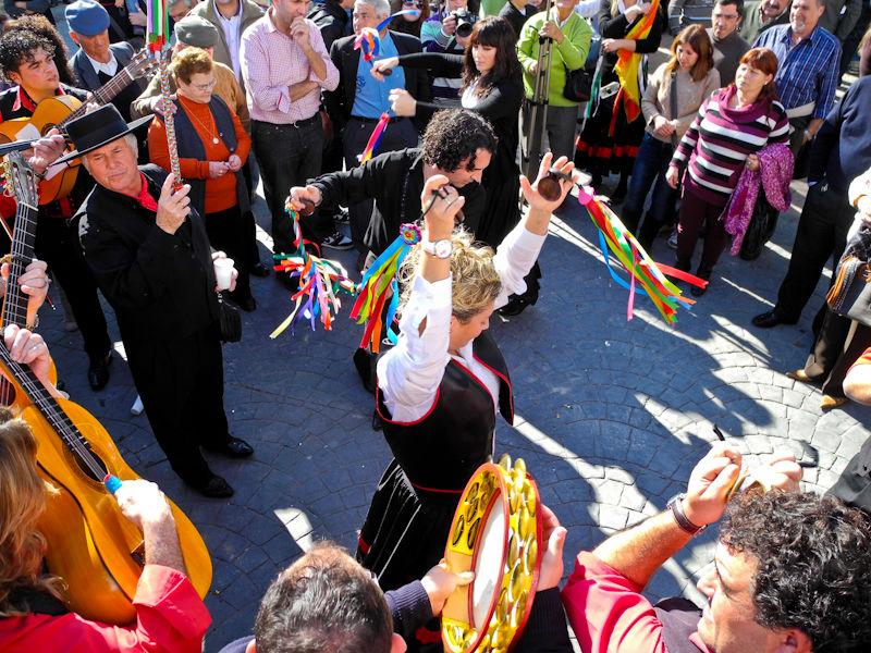 Panda Band Dancers Comares Axarquia Spain