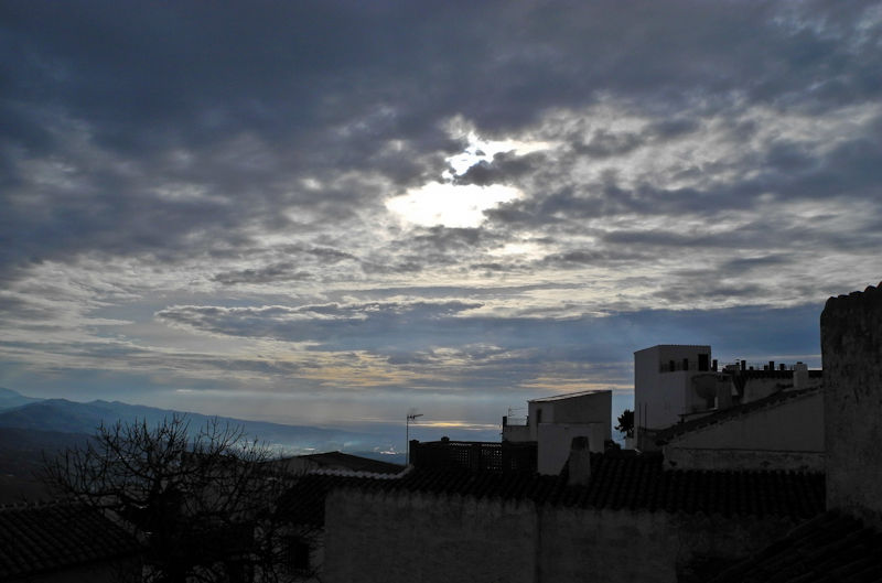 Comares Cloud Andalucia Spain