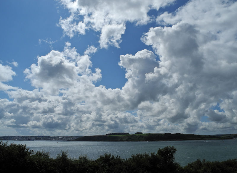 Clouds Falmouth Cornwall UK