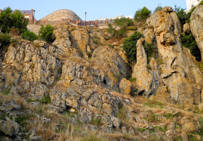 Comares Limestone Andalucia Spain