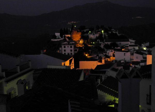 Comares Night Andalucia Spain
