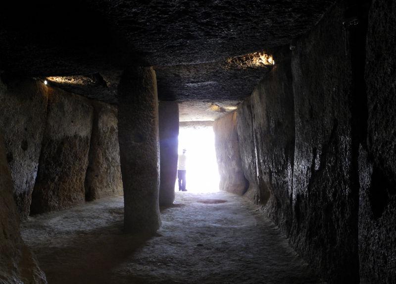 Menga Dolmen Antequera Andalusia Spain