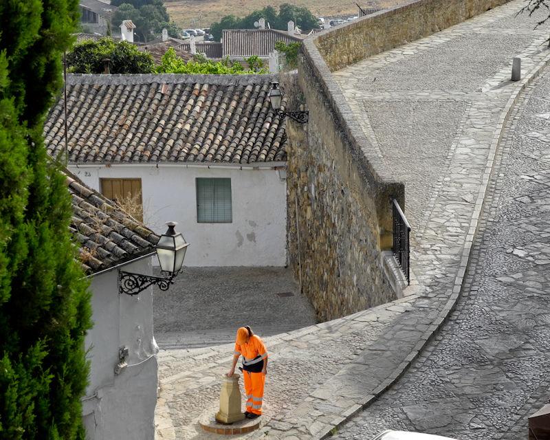 Street Scene Antequera Andalusia Spain