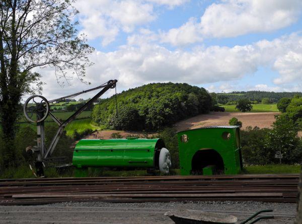 Tank Engine Presteigne Wales