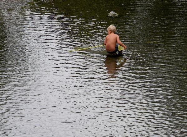 Fishing Ludlow Shropshire UK