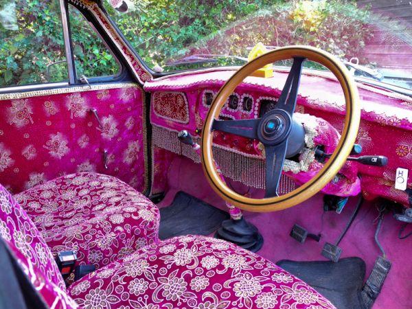 Ambassador car Ludlow Shropshire UK
