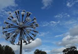 Dandelion Sculpture Herefordshire UK