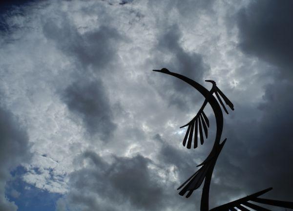 Bird Sculpture Herefordshire UK