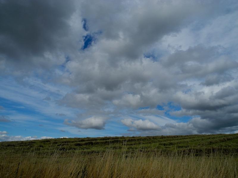 Clouds Caynham Ludlow Shropshire UK