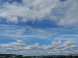 Clouds Ludlow Shropshire UK