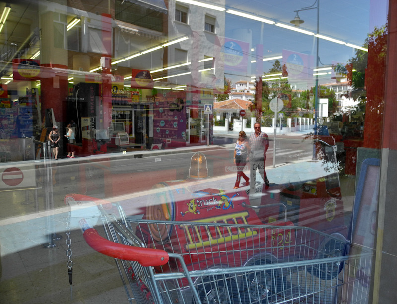 Reflection Supermarket Torre del Mar Axarquia