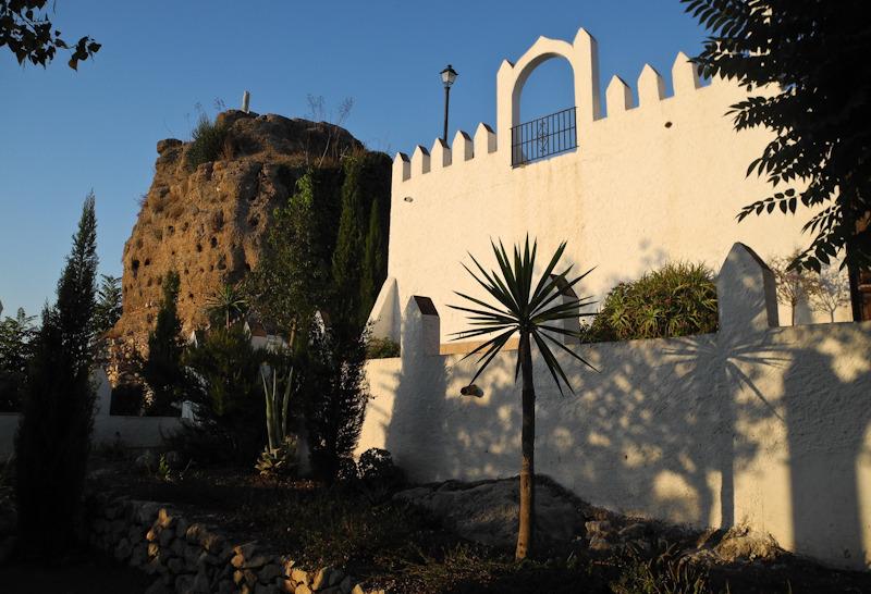 Comares Castle Axarquia Andalucia Spain