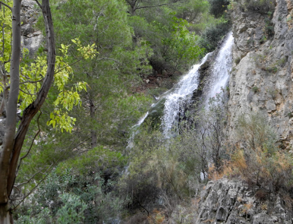 Falls Frigiliana Axarquia Andalucia Spain