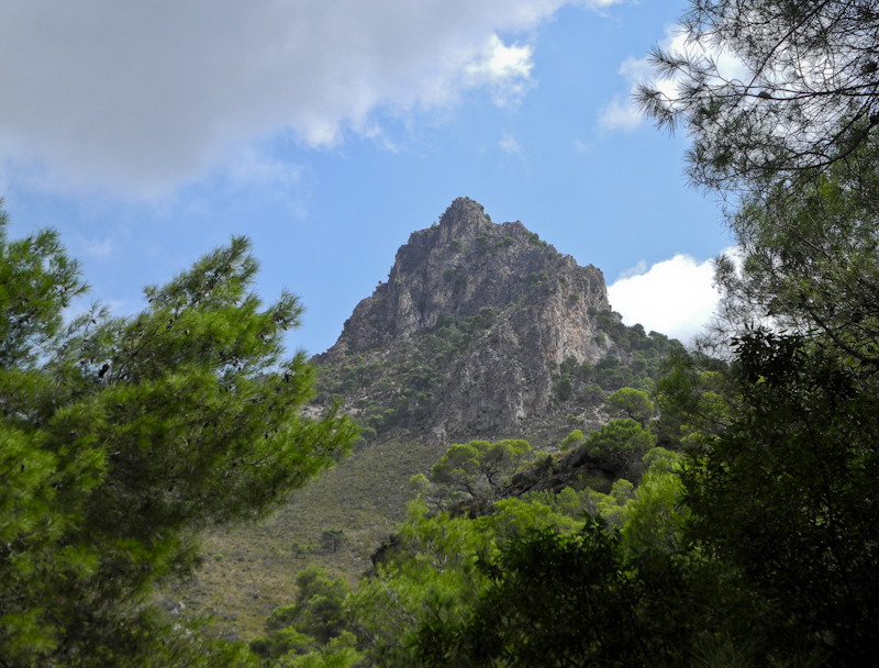 Crag Frigiliana Axarquia Andalucia Spain