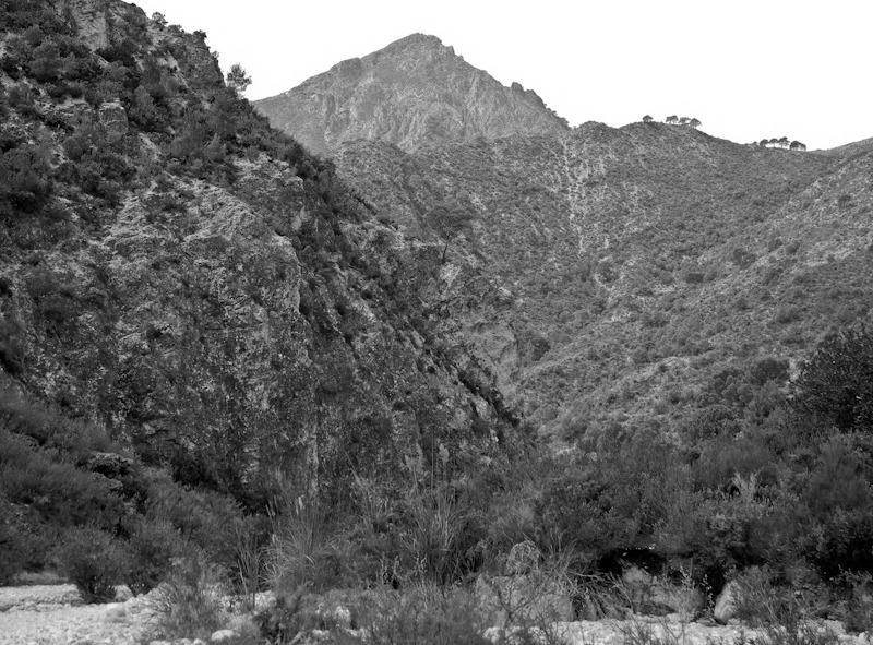 Crag Higueron Axarquia Andalucia Spain