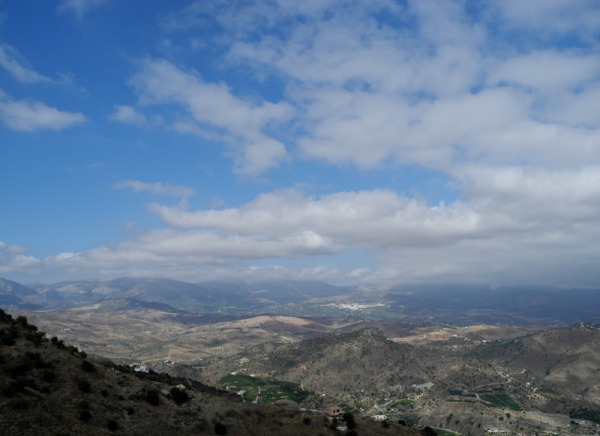 Periana View Comares Axarquia Andalusia Spain