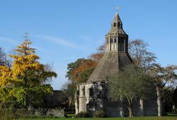 Glastonbury Abbey Somerset UK