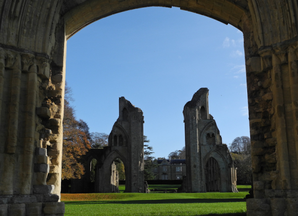 Glastonbury Abbey Somerset UK
