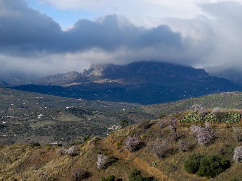 Mountains Malaga Andalusia Spain
