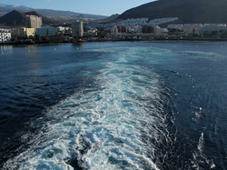 Ferry Tenerife Canary Islands Spain