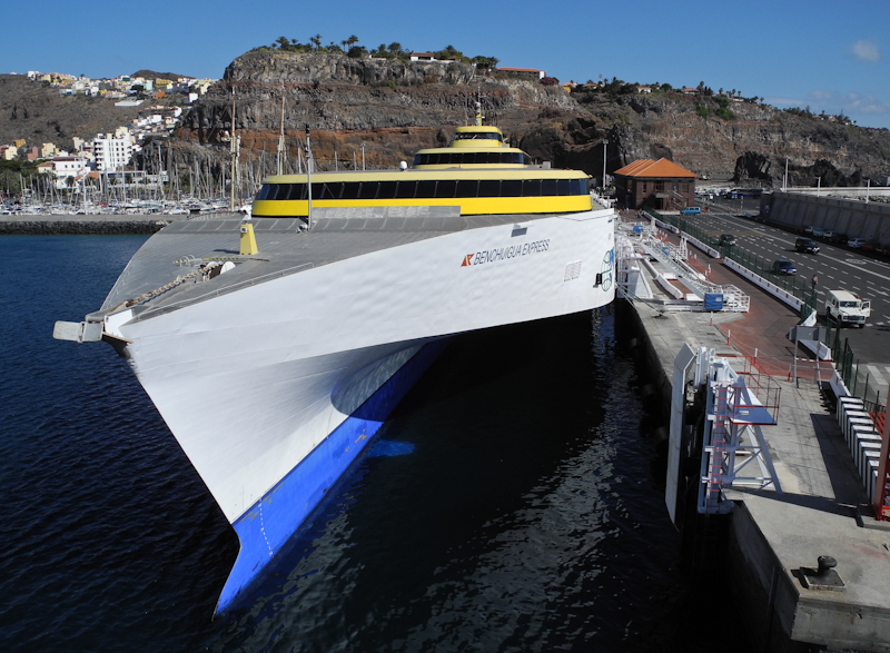 Ferry Tenerife Canary Islands Spain