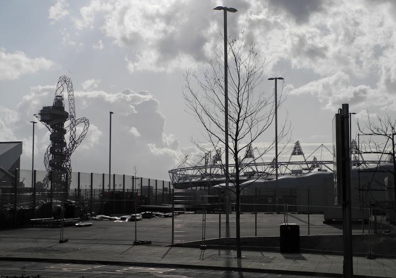 Olympic Park Westfield Centre London UK