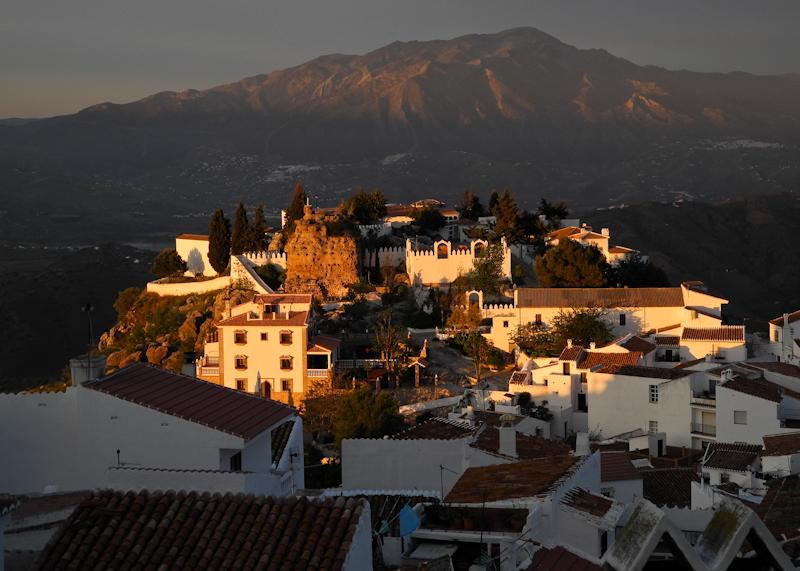 Comares Axarquia Andalucia Spain
