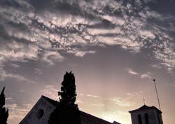Comares Church Axarquia Andalucia Spain