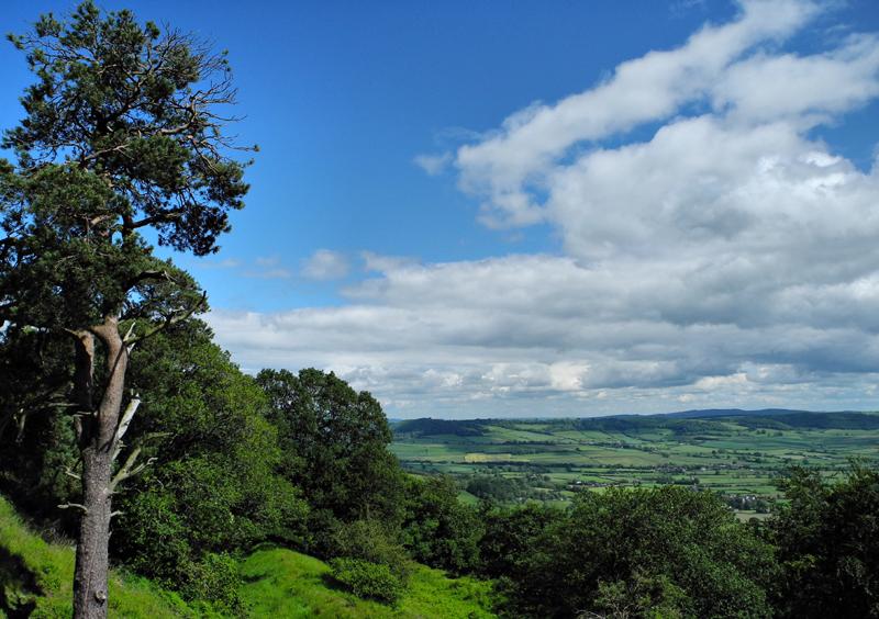 Burrow Hill Fort Shropshire UK