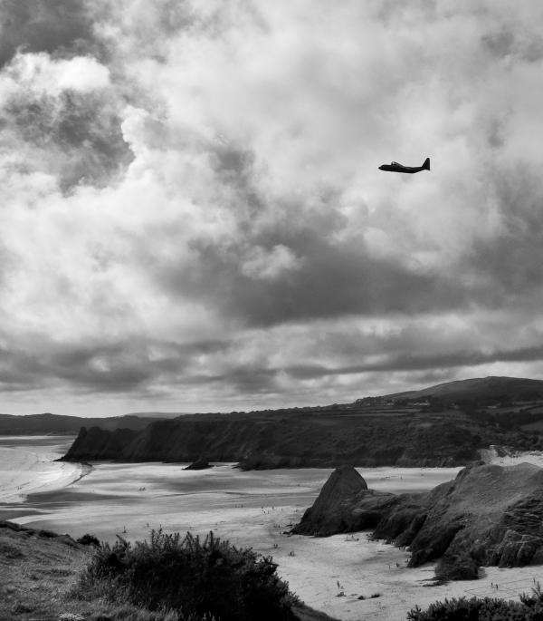 Hercules Coast Path Gower Wales