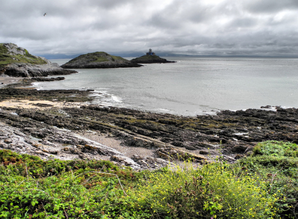Mumbles Lighthouse Gower Wales