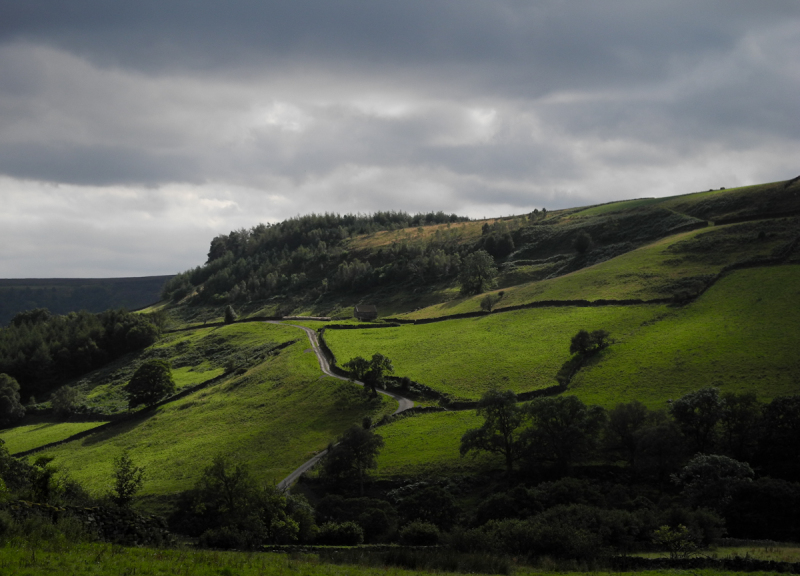 Rosedale North York Moors UK