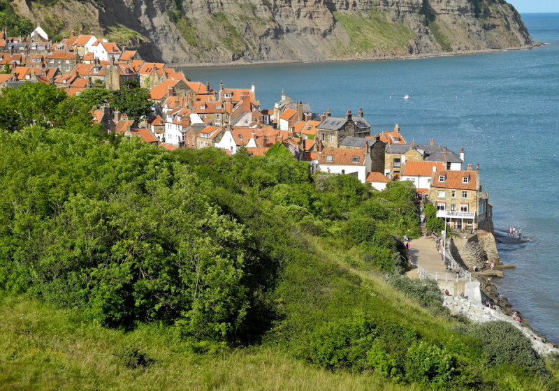 Robin Hoods Bay  North York Moors UK