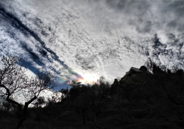 Cloud Comares Axarquia Andalusia Spain