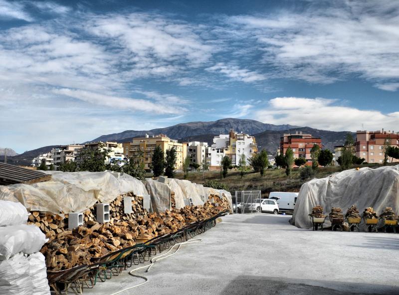 Log Shop Velez Malaga Axarquia Andalusia Spain