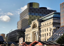 Birmingham New Library UK