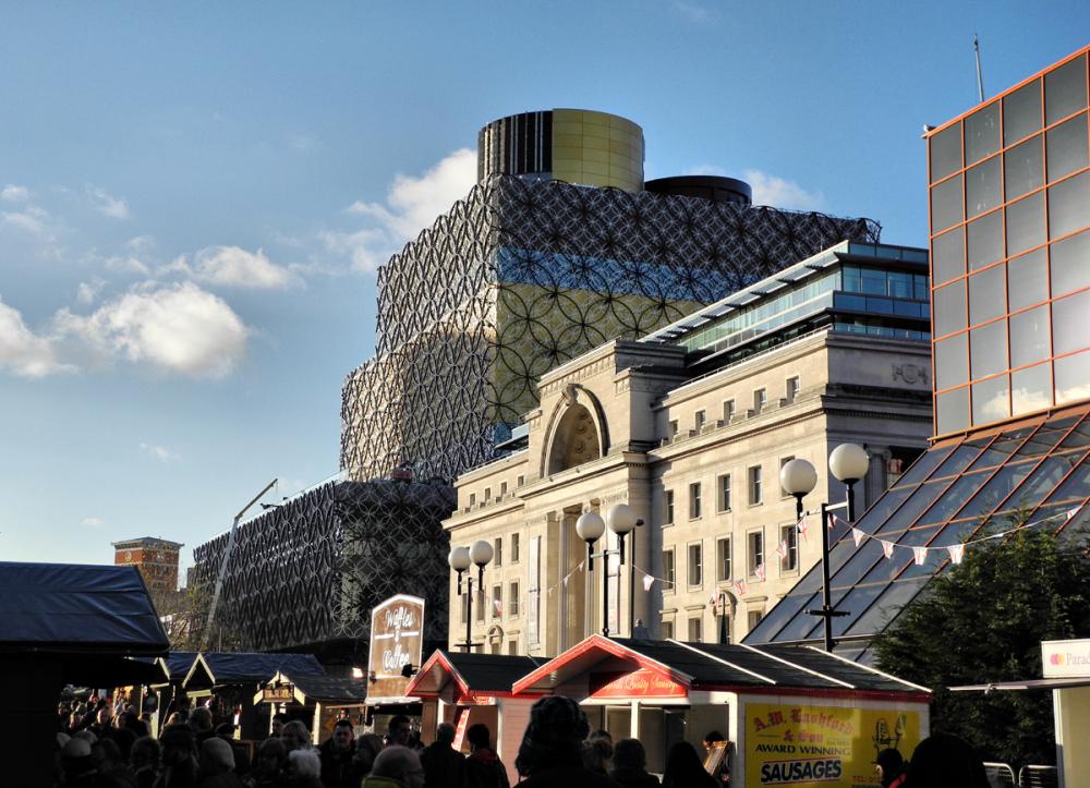 Birmingham New Library UK