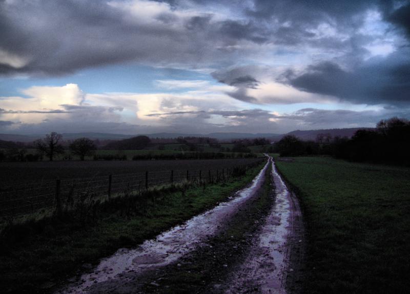Track Priors Halton Ludlow Shropshire UK