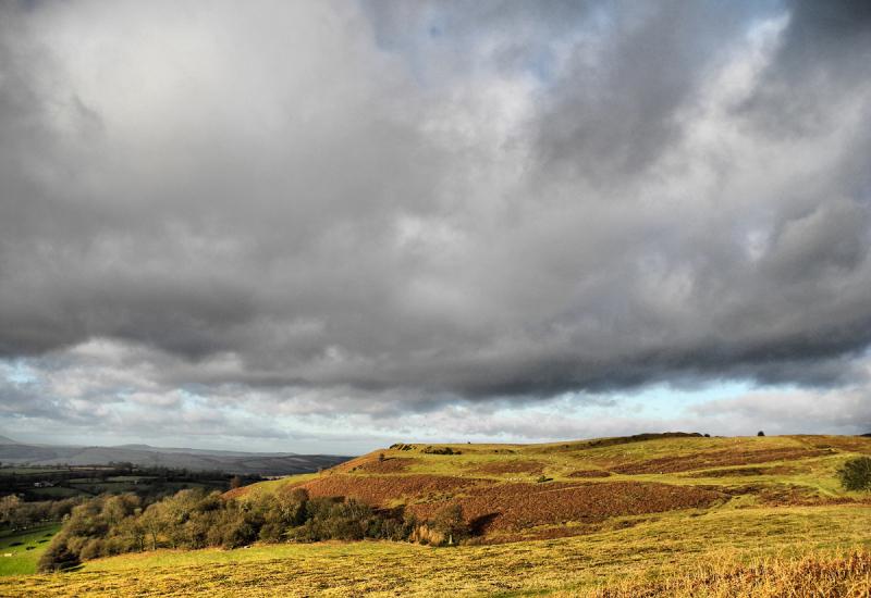 Brown Clee Shropshire UK