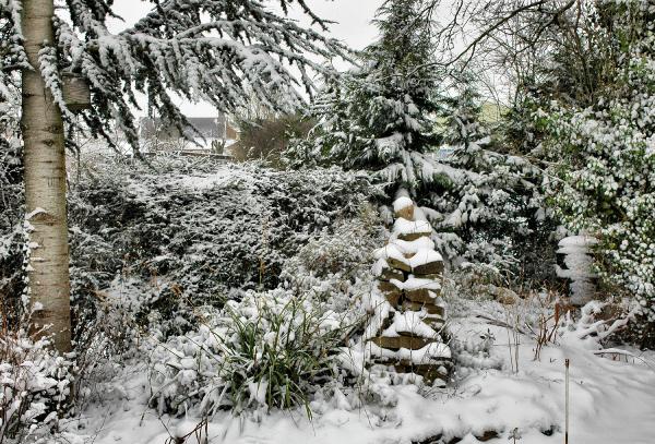 Ludlow Snow Shropshire UK