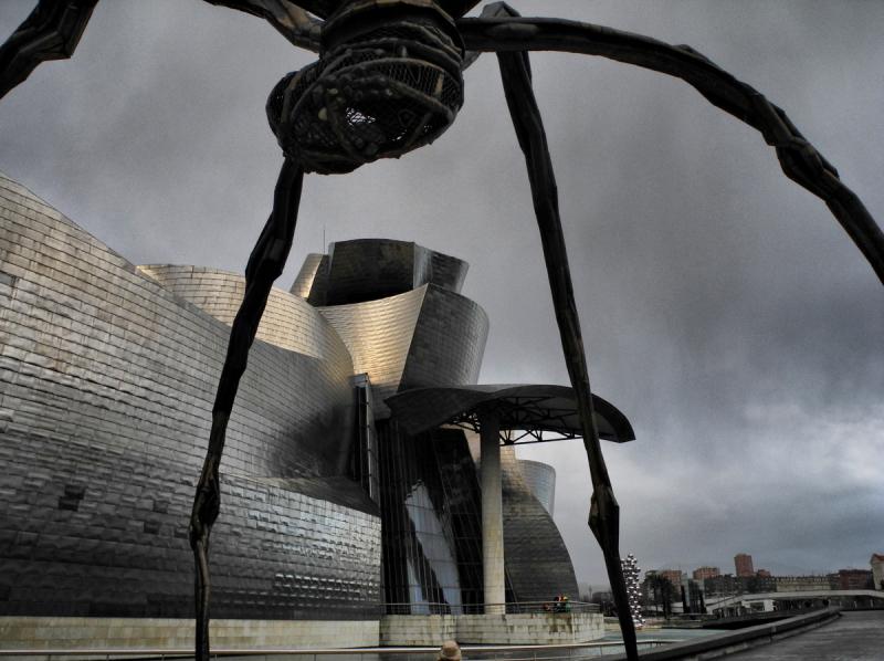 Louise Bourgeois Bilbao Museo Guggenheim Spain