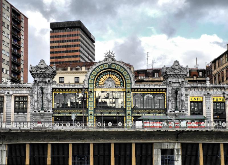 Bilbao Railway Station Spain